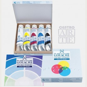 SET TEMPERA TALENS COLORES PRIMARIOS TUBO 20ML