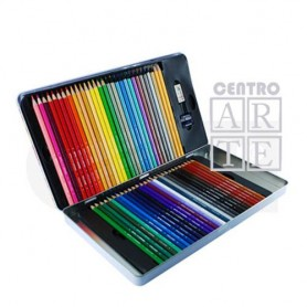 CAJA 60 LAPICES COLOR BRUYNZEEL,  METALIZADOS Y GRAFITO 60`S