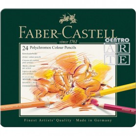 CAJA 24 LAPICES POLICROMOS FABERCASTELL
