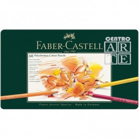 CAJA 60 LAPICES POLICROMOS FABERCASTELL