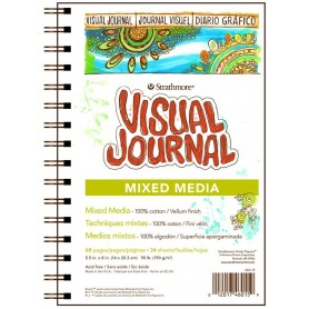 BLOC VISUAL JOURNAL MIXMEDIA 22,9X30,5 190GR