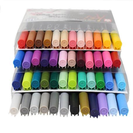 SET 48 ROTULADORES KOI COLORING BRUSH PEN