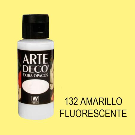 ARTE DECO VALLEJO  60ML 132 AMARILLO FLUOR