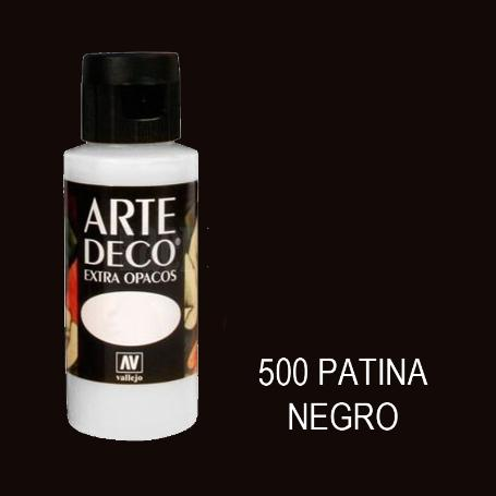 ARTE DECO VALLEJO 60ML 500 PATINA NEGRO