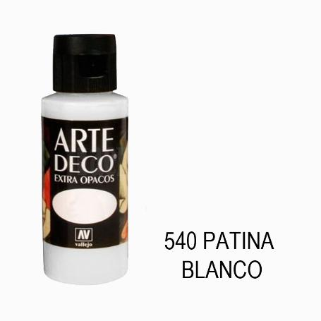 ARTE DECO 60ML 540 PATINA BLANCO