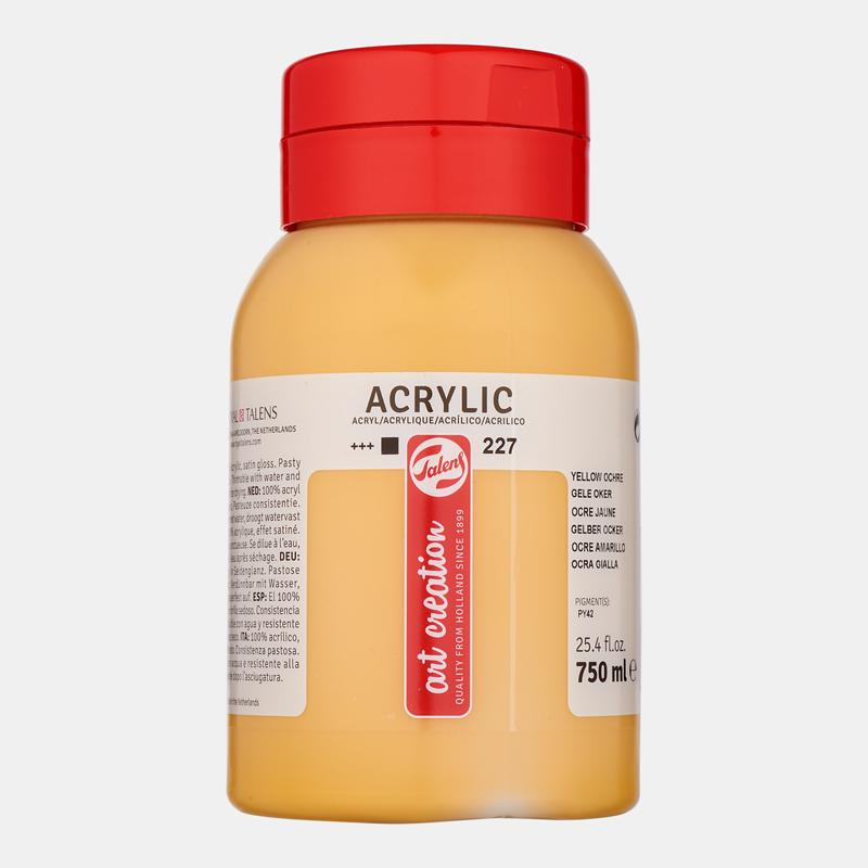 ACRILICO ARTCREATION 227 OCRE AMARILLO 750ML
